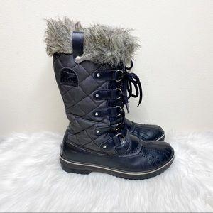 Sorel Tofino II Joan of Ark Winter Boots Black 9